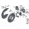 Czujnik klocków tył BMW F39 F45 F46 F48 MINI F54 F55 F56 F57 F60 - 34356865612