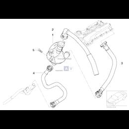 Przewód powrotny odmy BMW E46 316i 318i N42 N46 - 11157513903