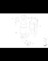 AT-Kolektor wydech. z katalizatorem - 18307558755