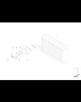 Zawór rozprężny klimatyzacji BMW E60 E61 E63 E64 630 635 650 645 M6 520 523 525 530 535 545 550 M5 - 64119178316