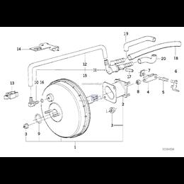 Przewód elastyczny podciśnieniowy - 34332226388