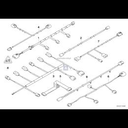 Przewód płaski CAS - 61126950093