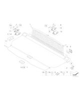 Adapter lewy - 51477141473