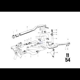Przewód elastyczny układu chłodzenia - 11531266465