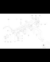 Regulator ciśnienia BMW E34 E36 E46 316i 318i - 13531729320
