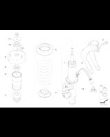 Amortyzator przedni lewy - 37116794531