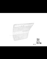 Akcesoria dodatkowe, Tapicerka drzwi - 51421823919
