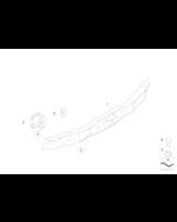 Absorber uderzenia tylny prawy - 51127065358