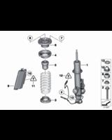 Amortyzator tylny lewy - 37126794137