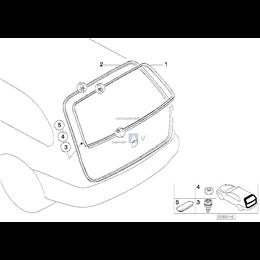 Uszczelka pokrywy bagażnika - 51717019955