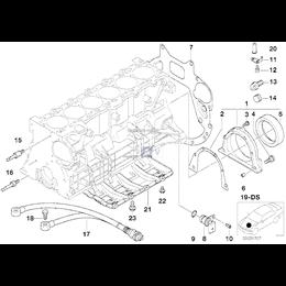 Sworzeń łożyskowy rozrządu BMW E36 E38 E39 E53 X5 E60 E61 E65 E83 X3 E85 Z3 - 11311703718