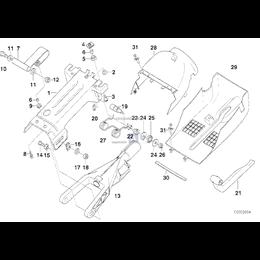 Wspornik kolumny kierownicy - 32311090227