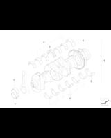 AT-Wał korbowy z panewkami - 11210392993