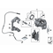 Czujnik klocków hamulcowych przód lewy BMW F20 F21 F22 F23 F30 F31 F32 F33 F34 F36 F80 E82 F83 F87 - 34356792289