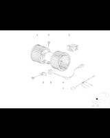 Dmuchawa wentylator wnętrza BMW E38 725tds 728i 730d 730i 735i 740d 740i 750i - 64118391809