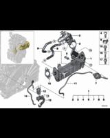 Zawór EGR BMW F10N F15 F21N F22 F25 F30 F32 F45 F54 G11 MINI 1,6d 1,8d 2,0d 2,5d 3,0d - 11718513132