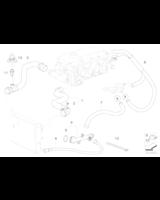 Przewód elastyczny układu chłodzenia BMW E46 316i 318i M43 - 11531436411