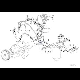 Przewód paliwowy - 13531287251