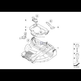 Mechanizm do opuszczania koła zapasowego - 51713452198