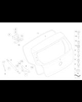 Siłownik pneumatyczny pokrywy bagażnika BMW E87 E87N E81 116 118 120 123 130 - 51247060622