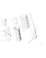 Amortyzator tylny lewy - 37122225774