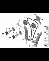 Łańcuch rozrządu BMW E60 E61 E63 E64 E65 E70 E81 E83 E84 E90 E91 F01 F10 F12 F20 F30 F31 - 11318648732