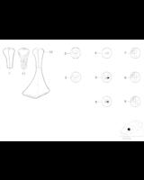 Uchwyt dźw. zm. bieg., plast./5-b. - 25111222280