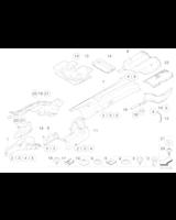 Izolacja termiczna tłumika końcowego - 51487139149