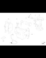 Klocki hamulcowe przód BMW E60 E61 E63 E64 - 34116774258