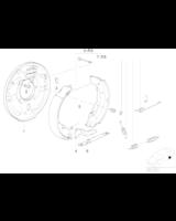 Szczęki hamulcowe BMW E36 316i 318i 318tds na bęben - 34219067127