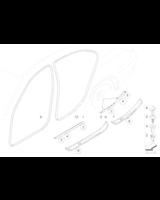 M Osłona progu, przednia prawa - 51477897240