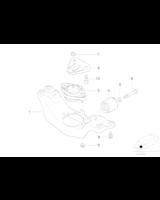 Adapter podstawy skrzyni biegów - 22321091979