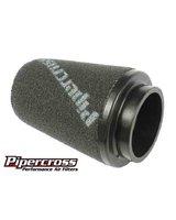 Sportowy stożkowy filtr powietrza z gąbkowym płaskim topem - UNIWERSALNY do mocy ok. 355KM