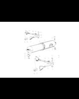 Amortyzator drzwi - 51216050556