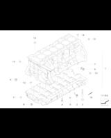 Blok silnika z tłokami, tylko w połączeniu z - 11110421309