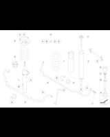 Guma stabilizatora przód BMW E81 E87 E90 E91 E92 E93 26,5mm - 31356765574