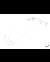Czujnik PDC przód BMW E39 E60 E61 E63 E64 Z4 MINI 520 523 525 528 530 535 540 545 prod. od 09.2001r - 66202180149