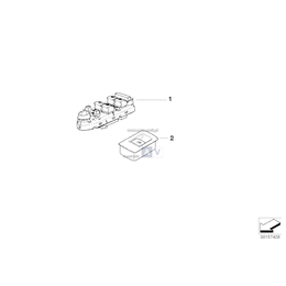 Przełącznik podnośnika szyby - 61316945876