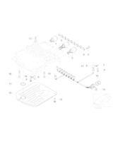 Filtr automatycznej skrzyni BMW E38 E39 X5 E31 540 535 740 735 - 24341422673