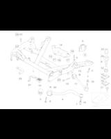 Wahacz przód E39 górny - Oryginał BMW - 31121141718