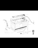 Akumulator Original BMW, nienapełn. - 61218381708