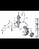 Amortyzator przedni prawy - 37116793900