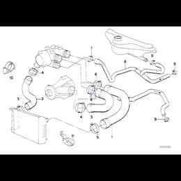 Przewód elastyczny układu chłodzenia - 11531711559