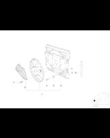 Wentylator skraplacza klimatyzacji BMW E38 725tds 728i 730i 735i 740i 750i - 64546921383