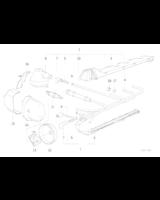 Kopułka BMW E30 E36 E34 316i 318i 518i M40 - 12111734109