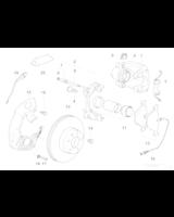 Klocki hamulcowe E39 - Oryginał BMW - 34116761279