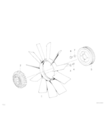 Visco sprzęgło wentylatora BMW E30 E36 E34 316 318 320 325 328 520 525 - 11521723918