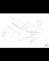 Cylinder napinacza łańcucha lewy - 11317688629