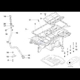 Uszczelka metalowa - 11137500260