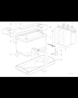 Akumulator - pakiet zasilania - 61219061641